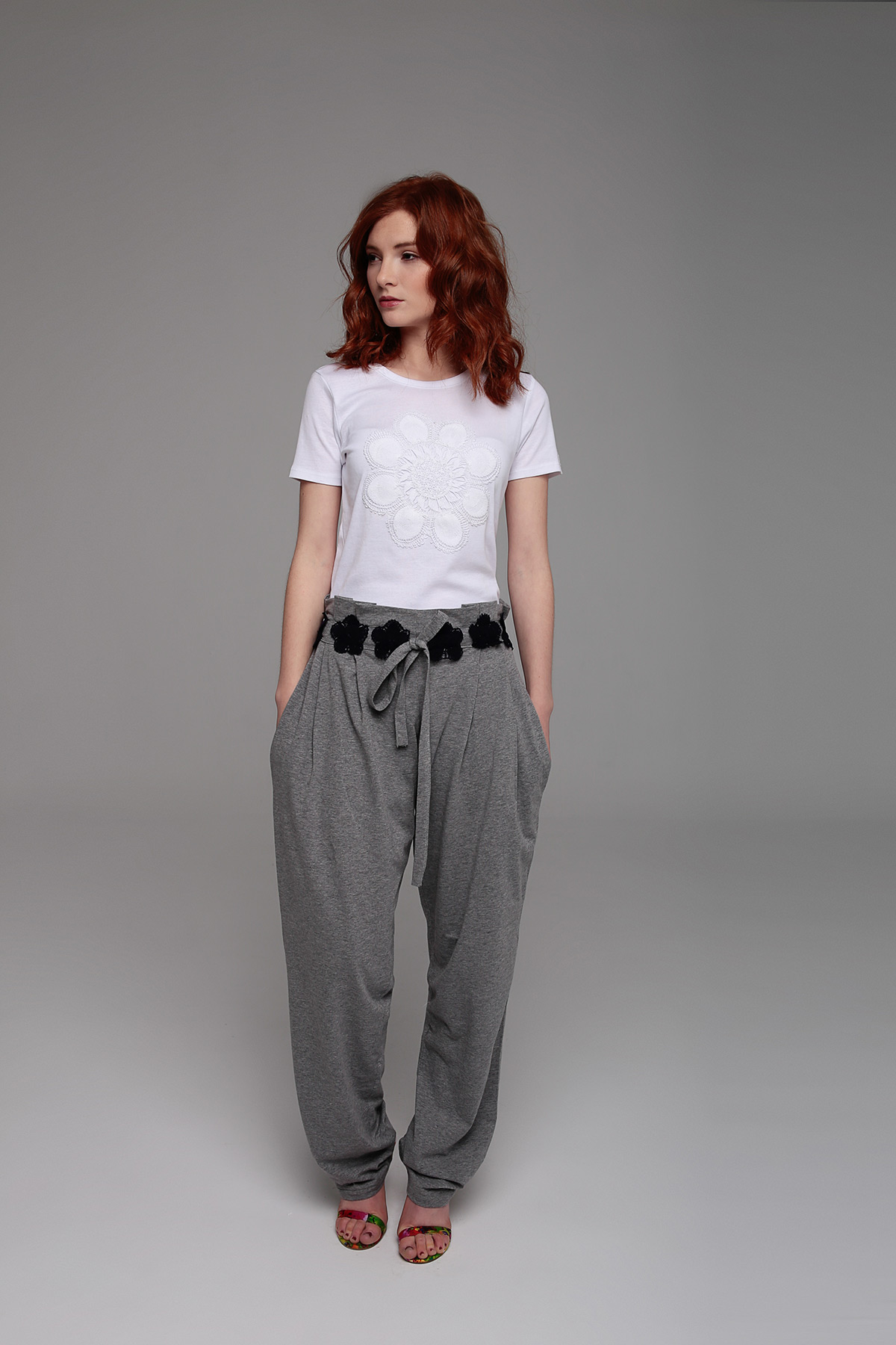 Grey trousers Mammisi