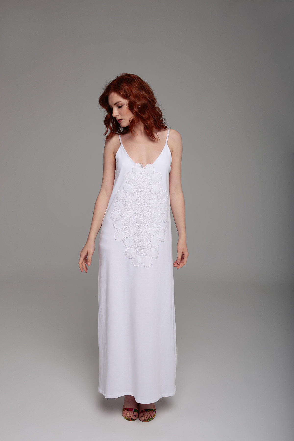 Long White Dress Mammisi